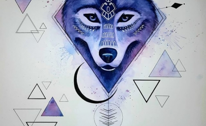 loup indien